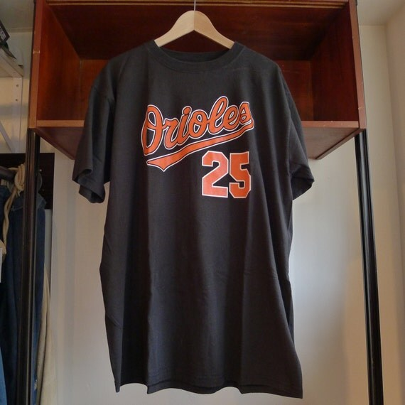 vintage baltimore orioles shirt 25 rafael palmeiro