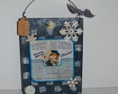 Primitive wooden country decorative sign, countrysign handmade,Christmas gift holiday decor free shipping