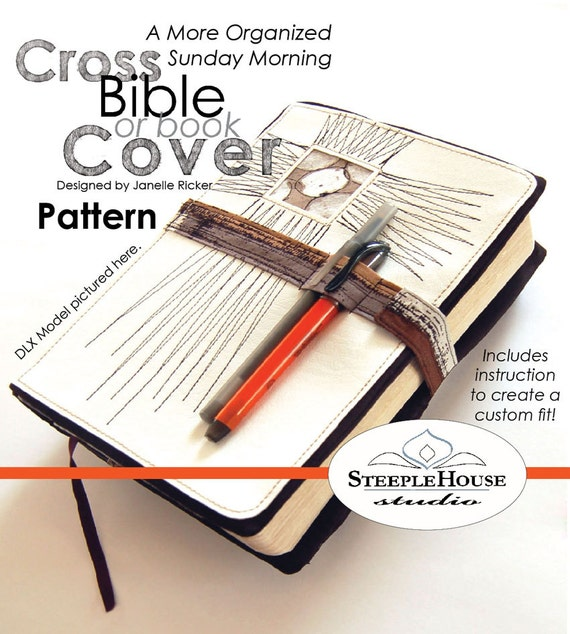 Bible Book Cover Sewing Pattern : Pdf sewing pattern a more organized sunday by