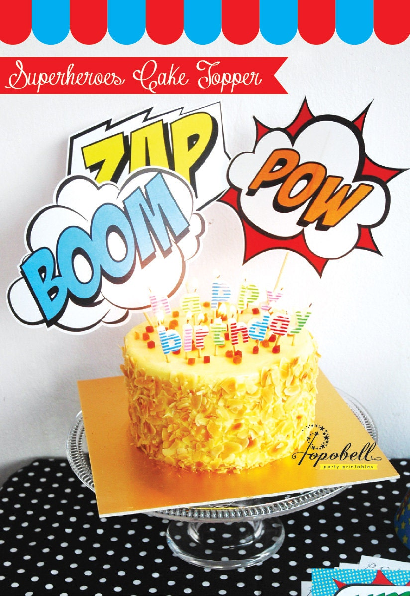 superhero cake toppers cake topper for birthday in 3 7842