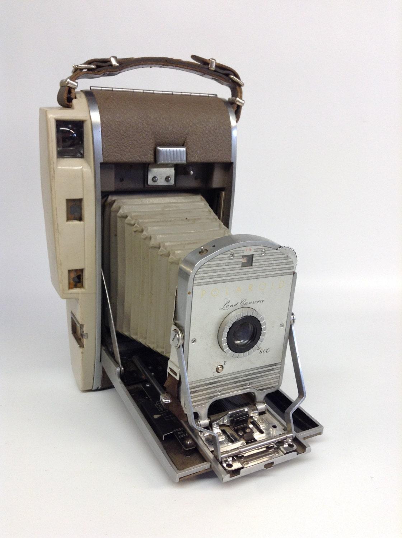 Vintage Antique Polaroid Land Camera 800 Mid Century Modern