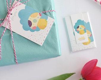 My little Sunshine Gift Tag Set (8pk)