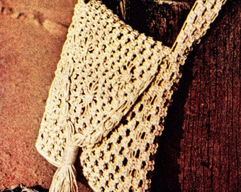 Macrame Purse and Sandals PATTERNS