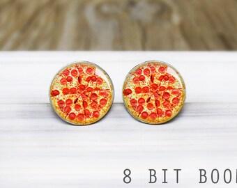 Pizza Earrings - Hypoallergenic Earrings for Sensitive Ears