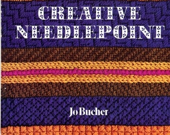 Complete Guide to Creative Needlepoint hardback book by Jo Bucher