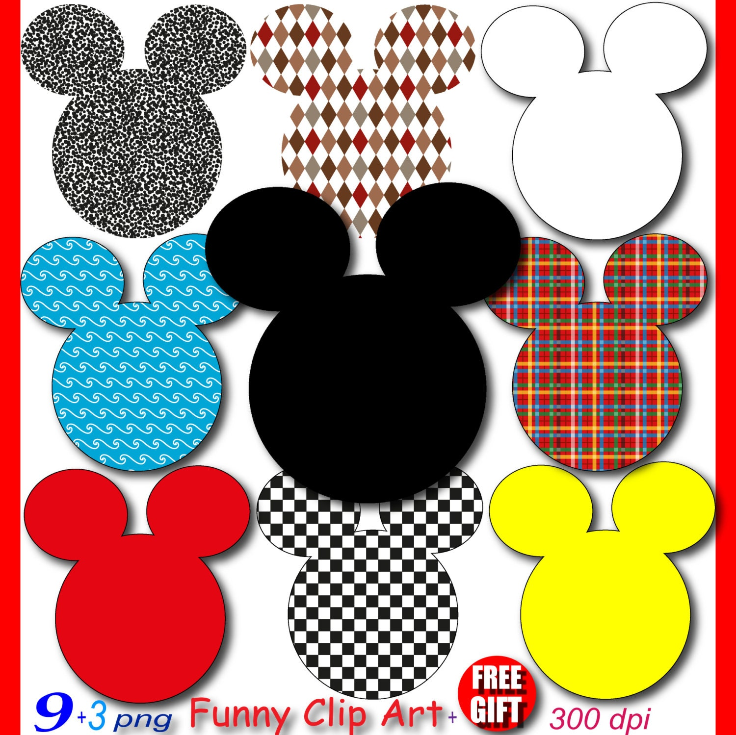mickey mouse party digital clipart minnie mouse clubhouse