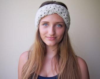 Crochet PATTERN turban twist headband hat lace retro  vintage headwrap, DIY photo tutorial Instant download