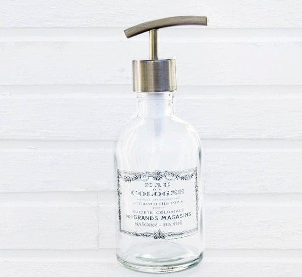 Hand Soap Dispensers Paris Bathroom Decor Kitchen Soap