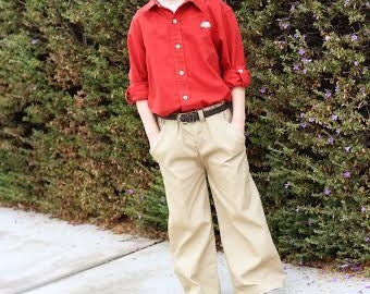Cargo Pants sewing pattern PDF - boys and girls - unisex pattern - size 3 months - 12 years, cargo pants pattern