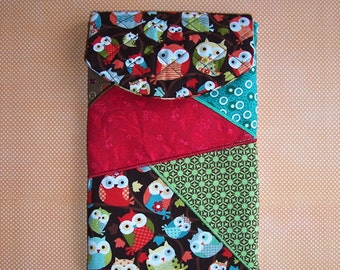 Owl E-Reader Padded Pouch