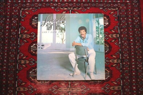Lionel Richie Can T Slow Down Vintage Vinyl Lp By