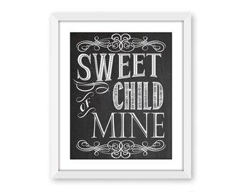 Sweet child of mine | Etsy