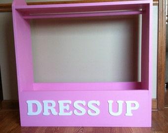 Dress Up Storage Closet wtih Shelf