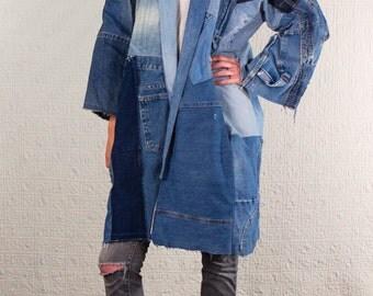 SilkDenim's Oh Yoko Coat Made From 100% Recycled Denim