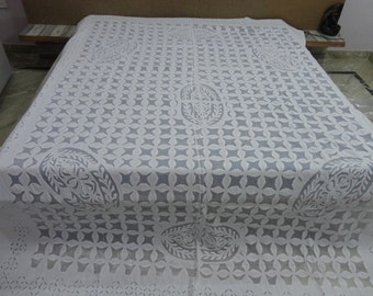 organdy cutwork quilt