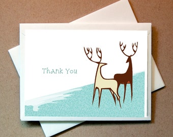 Deer Thank You Cards (24 cards and envelopes)