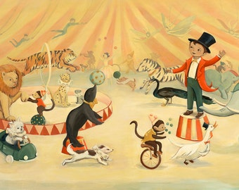 Dream Animals Circus Dream / Large Print