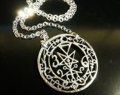 Seal Of Lilith Sterling Silver Pendant Only