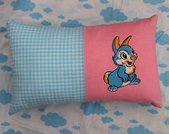 Adorable Vintage Pillow Disney Thumper 50's Fabric Cushion Children's N