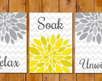 Popular items for yellow wall decor on Etsy