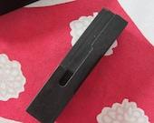 Antique Letterpress Wood Type Printers Block Letter L
