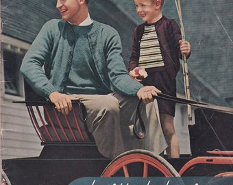 Knitted Classics by Botany - 1944 - Vintage Knitting Patterns