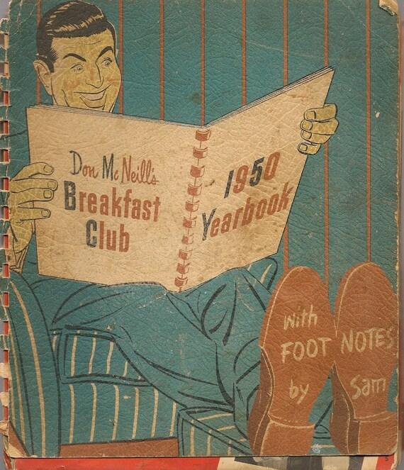 Don McNeill's Breakfast Club 1950 Yearbook + 1950 + Vintage Humor Book