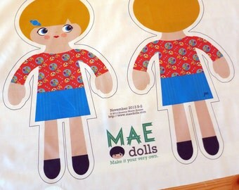 MAE Style 2 Doll Pattern Kit