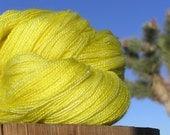 Lace Weight Yarn - BFL Wool and Silk - Blazing Star