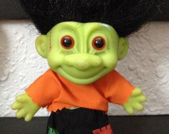 Frankenstein Troll Doll Russ Circa 1992