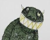 A4 PRINT Monster Shucks
