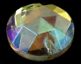 18mm Crystal AB Sew-On #1889
