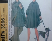 RESERVE FOR NINELIVES999 Vintage 1970's Cape/Poncho Sewing Pattern UncutHalston Original 1974 McCall's Size Large