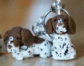 German Shorthaired Pointer Dog Stitch Markers