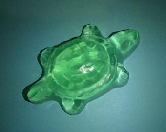 3 Green Turtle Glycerin Soaps