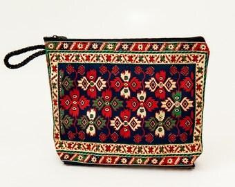Turkish Woven Clutch (o)