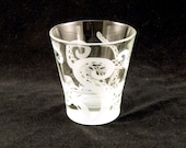 Tentacles Shot Glass - Large Espresso Shot Glass - Personalized Etched Barware