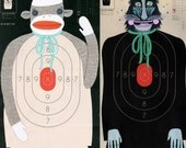 ON HIATUS- Custom Hand-Painted Paper Shooting Targets