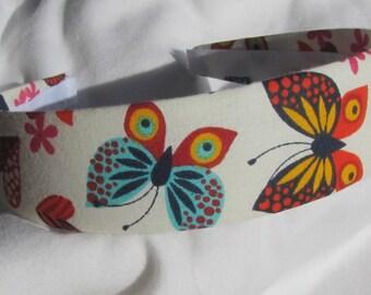Vibrant Butterfly Headband Hair Band Head Wrap Fashion Headband