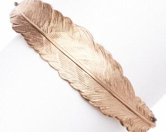 Rose Gold Feather Fly BRACELET