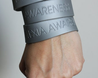 Silver Dyslexia Awareness Band