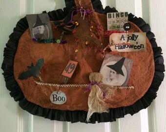 Primitive Halloween Door Greeter ready to ship