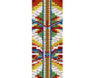 Loom Pattern Native Travels. Instant Download