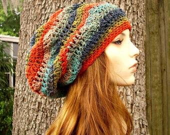 Instant Download Crochet Pattern - Crochet Hat Pattern - Chevron Slouchy Hat Pattern - Womens Hat Pattern - Womens Accessories