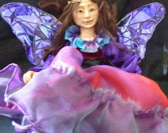 Fairy Warning, OOAK Art Doll