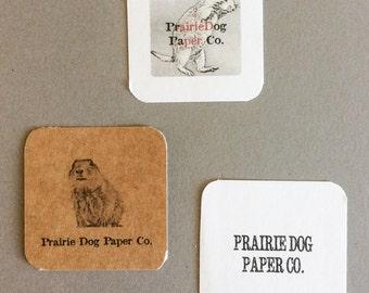 Stickers, 2 x 2 Business Stickers,, Logo Sticker, set of 40, Custom