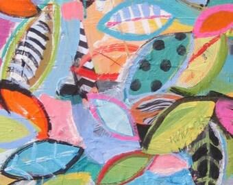 Original painting by Michelle Daisley Moffitt.....Piled High