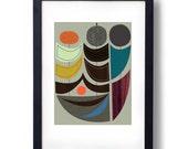 Giclee Print (Item No. P-2014-09) Suns II