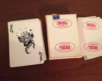 Nob Hill Casino Playing Cards