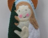Saint Susanna Felt Saint Softie